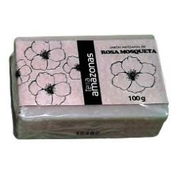 Jabón artesano Rosa Mosqueta 100gr.