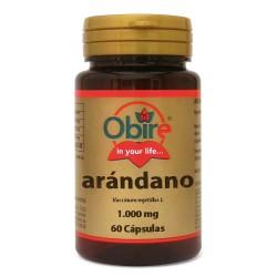 Arandano Rojo en cápsulas de 1000mg.
