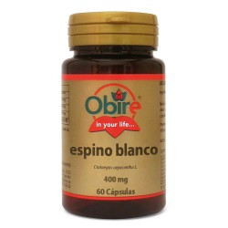 Espino Blanco 400mg. 60 cápsulas