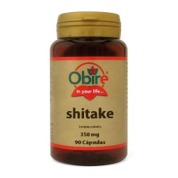 Shitake (micelio) 350 mg. 90 Cápsulas