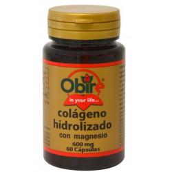 Colágeno Marino Hidrolizado y Magnesio 600mg. 60 caps.