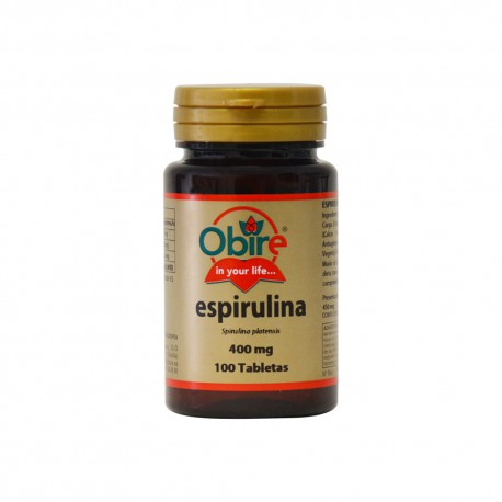 Espirulina (spirulina) 400 mg.