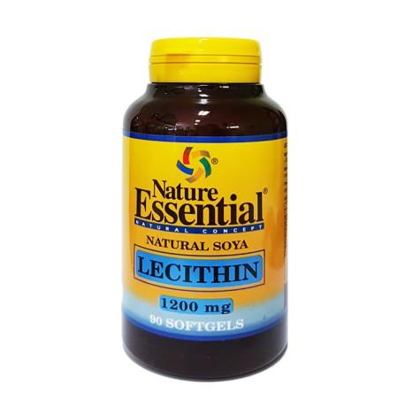 Lecitina de soja 1200 mg.