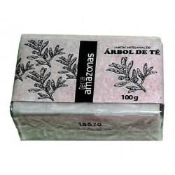 Jabón artesano de árbol de té 100gr.