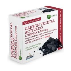 Carbón Vegetal Activo 60 Cápsulas de 250mg.