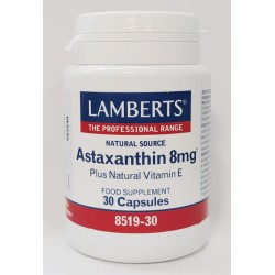 Astaxantina 8 mg con Vitamina E natural