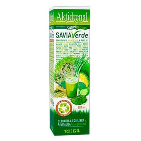 Aktidrenal Savia Verde 500 ml Tongil