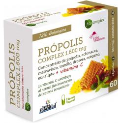 Propolis Complex (propolis + equinacea + tomillo + vitamina C)