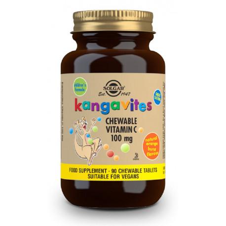 Kangavites Vitamina C 100Mg Solgar