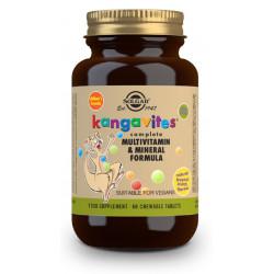 Kangavites Multi Frutas Tropicales masticables Solgar