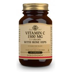 Vitamina C con Escaramujo 1500Mg 90 capsulas Solgar