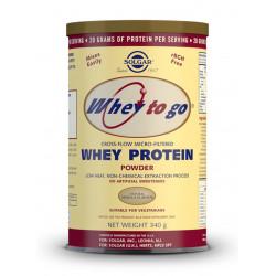 Whey Protein To Go Vainilla 340G Solgar