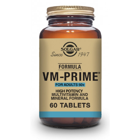 Fórmula VM-Prime™ Adultos más de 50 años - 60 Comp.