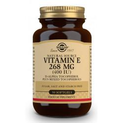 Vitamina E 400Ui perlas Solgar