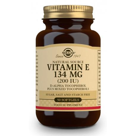 Vitamina E 200 UI (134 mg) - 50 Cáp
