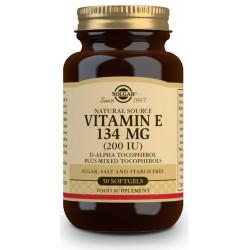 Vitamina E 200 UI (134 mg) - 50 Cápsulas blandas