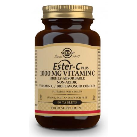 Vitamina Ester-C Plus 1000Mg 90 comprimidos Solgar