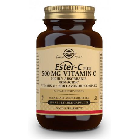 Ester-C® Plus Vitamina C 500 mg - 100 Cáp vegetales