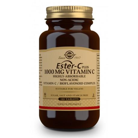 Vitamina Ester C Plus 1000mg. 180 comp Solgar