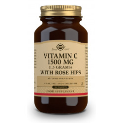 Vitamina C con Escaramujo 1500Mg 180 comprimidos Solgar