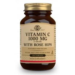 Vitamina C con Escaramujo 1000Mg 100 comprimidos Solgar
