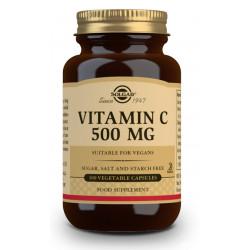 Vitamina C 500Mg 100 capsulas Solgar