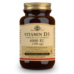 Vit D3 4000Ui 60Cap Solgar (Vegana)