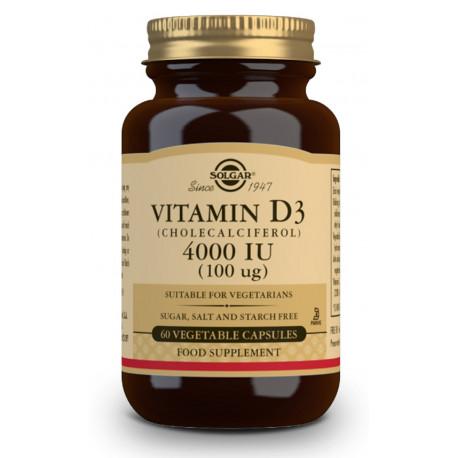 Vitamina D3 4000 IU vegana - INMUNIDAD