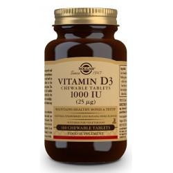 Vitamina D3 1000Ui Masticable Solgar