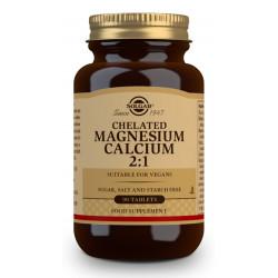 Magnesio Calcio Quelado 2:1 90 comprimidos Solgar