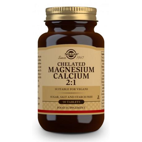 Magnesio / Calcio Quelado 2:1 - 90 Comprimidos