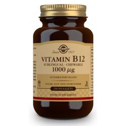 Vitamina B12 Solgar 1000 ug 250 comp. masticable