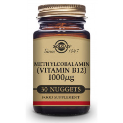 Vitamina B12 1000Mg Metilcobalamina 30 com. sublinguales Solgar