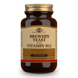 Levadura De Cerveza con Vitamina B12 Solgar 250 comprimidos