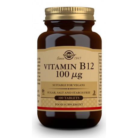 Vitamina B12 100 μg (Cianocobalamina) - 100 Comprimidos