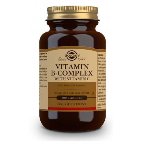 Vitamina B-Complex con Vitamina C - 100 Comp.