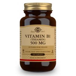 Vitamina B1 (Tiamnina) 500Mg De Solgar