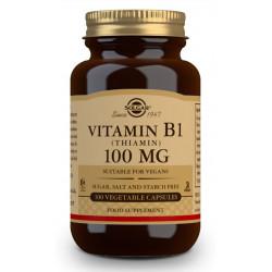 Vitamina B1 100Mg 100 cap De Solgar