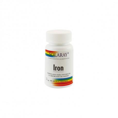 Iron 25Mg 60 capsulas Solaray