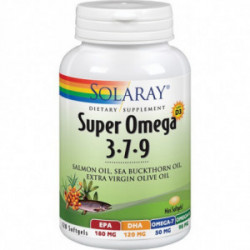 Super Omega 3-7-9 120 perlas Solaray