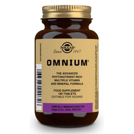 Omnium 180 comprimidos Solgar