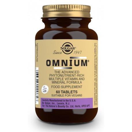 Omnium 60 comprimidos Solgar