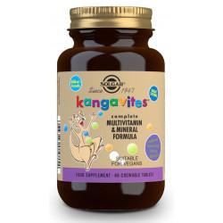 Kangavites Multi Frutas Del Bosque 60 comprimidos-Masticable Solgar