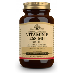 Vitamina E 400 UI (268 mg) - 100 Cáp blandas vegetales