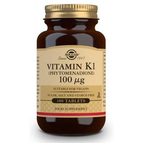 Vitamina K1 Fitonadiona 100 mcg 100 comp