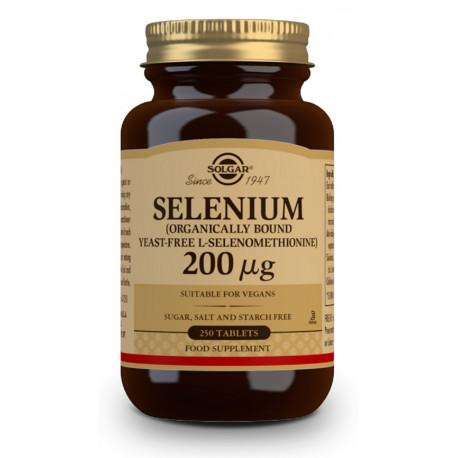 Selenio 200 µg (Sin levadura) - 250 Comprimidos