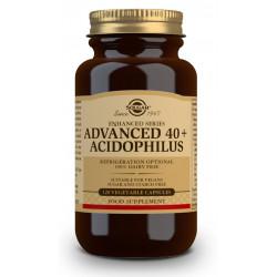 40 Plus Acidophilus Avanzado 120 capsulas Solgar