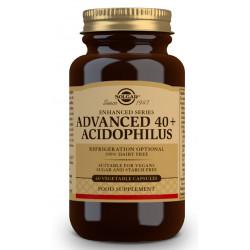 40 Plus Acidophilus Avanzado 60 capsulas Solgar