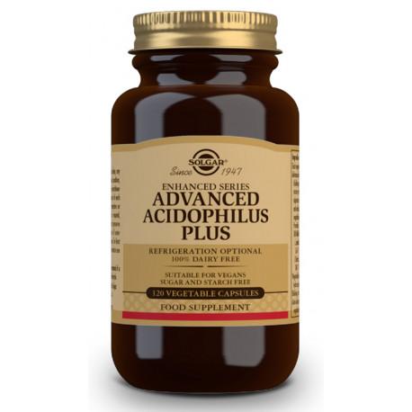 Acidophilus Plus Avanzado 120 capsulas Solgar