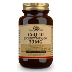 Coenzima Q-10 30 mg - 90 Cápsulas vegetales